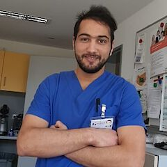Abdelghafour Kamari, Nursing specialist at the University Hospital of Tübingen